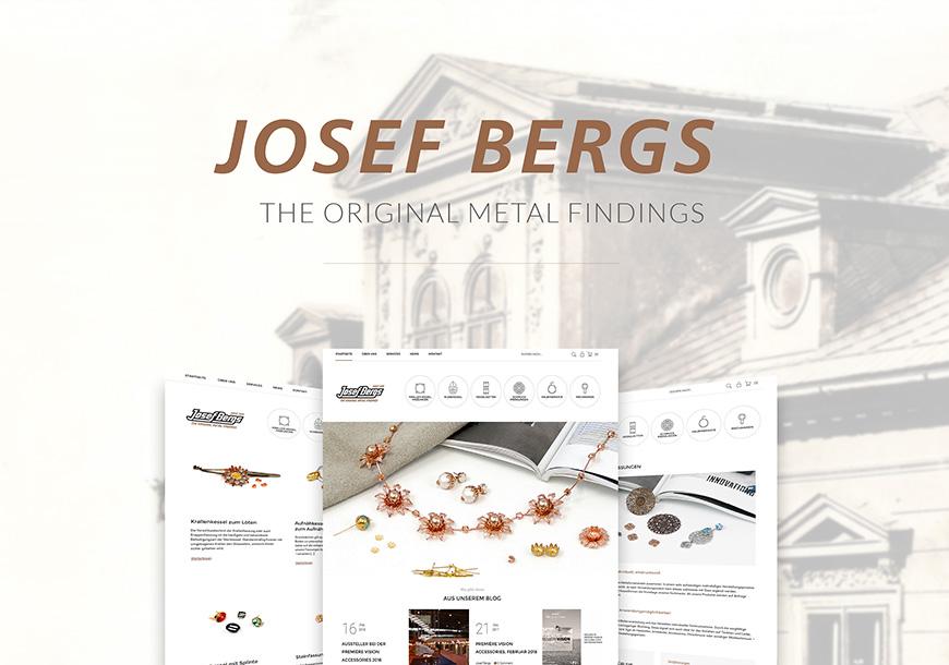 Neue Josef Bergs Website ist online